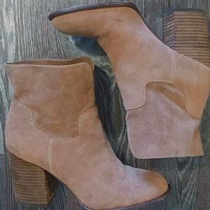 Restricted Booties - Size 8